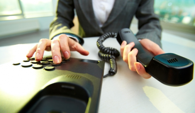 Telefoniczna rozmowa o pracę